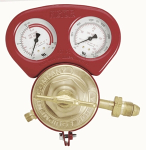 Victor Regulator Gauge Guard - Red 450 Series 1429-0057