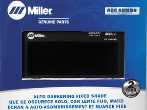Miller Auto-Darkening Welding Lens - 2 X 4 Fixed Shade  770226