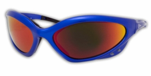 Miller Safety Glasses - Shade 5 Lens w/Blue Frame 235657