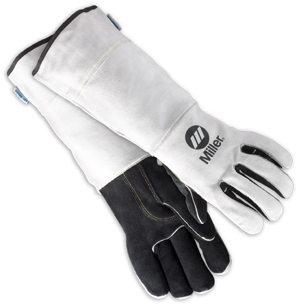 Miller Welding Gloves - Long Cuff MIG Gloves 249197