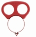 Victor Regulator Gauge Guard - Red 250 Series 1429-0069