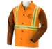 Black Stallion Welding Jacket - Hybrid w/Reflectives FO9-30C/BS/RTT