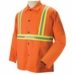 Black Stallion Welding Jacket - FR Orange w/Reflectives FO9-30C/RTT