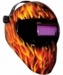 Save Phace Inferno Welding Helmet - Auto-Darkening Fixed Shade 10
