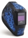 Miller Welding Helmet - Blue Rage Digital Performance Lens 256164