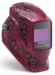 Miller Welding Helmet - Pink Fury Digital Elite Lens 256158