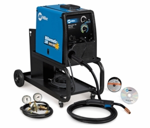 Millermatic 180 Auto-Set MIG Welder and Small Cart 951374