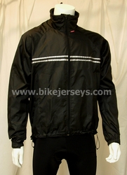 Black Wind & Rain Jacket   USA Sizing  L / XL  BLOWOUT!!