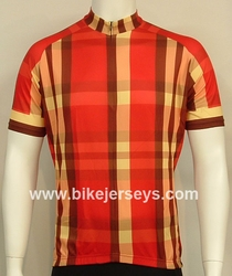 Red Plaid SS Jersey USA Sizes   Xs / S     Blowout!!