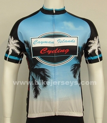 Cayman Islands Cycling Jersey  EURO  Xs / S / 4X    BLOWOUT!!