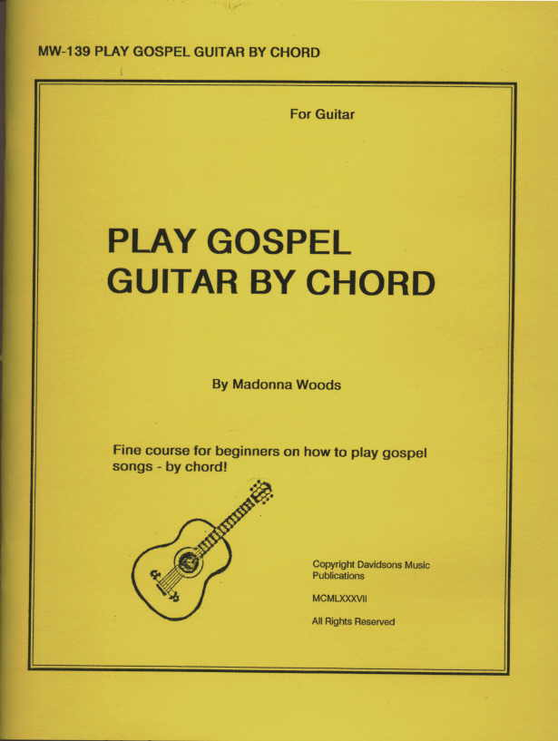 Play Gospel By Chord For Guitar Book