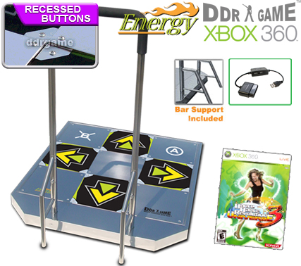 In Stock Now Dance Dance Revolution Ddr Energy Arcade