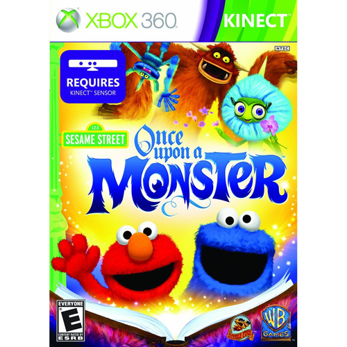 Xbox 360 - Sesame Street: Once Upon A Monster