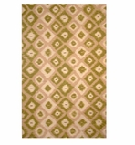 Accent Rug Ikat Green 2 x 3