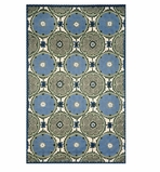 Accent Rug Suzani Blue 2x3