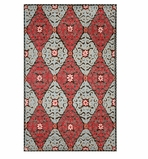 Accent Rug Suzani Red 2x3