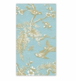 Hand Towels for Weddings Turquoise Gold 30 Pc