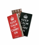 Keep Calm and Carry On Chocolate