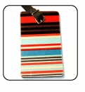 Ole Stripe Luggage Tags