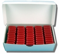Cherry-Scented Dental Wax for Braces - Bulk Box of 50
