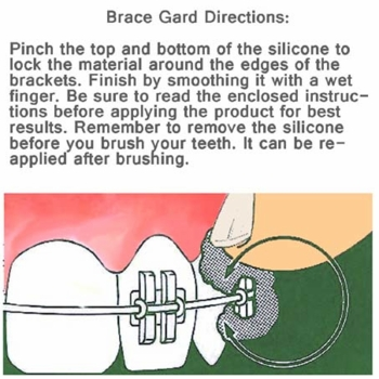 Brace Relief Pocket Kit (Brace Gard Silicone)