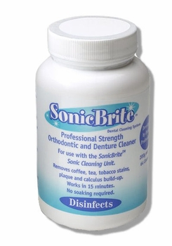 SonicBrite Retainer & Invisalign Cleaning Powder Refill - OUT OF STOCK INDEFINITELY