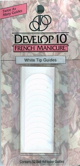 Develop 10 French Manicure White Tip Guides