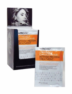Hi Pro Pac Extremely Damaged Hair Intense Protein Treatment 1.75 oz.
