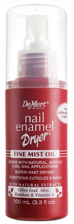 Nail Enamel Dryer - Fine Mist Oil