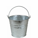 Galvanized Tin Buckets - Small