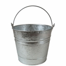 Galvanized Tin Buckets - Medium