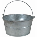 Galvanized Tin Basins With Handle