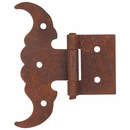 Rustic Iron Toro Hinge - Pack of 3