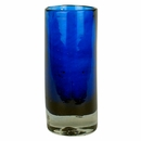 Hand Blown Cobalt Blue Shot Glass - Set of 4