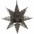 Medium Elegant Star Light Fixture With Marbles