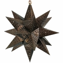 Large Moravian Star Light - Punched Tin