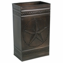 Texas Lone Star Tin Wall Sconce