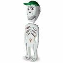Paper Mache Skeletons - Day of the Dead - Set of 2