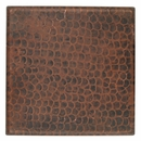 Hand Hammered Copper Tiles - 4 Inch