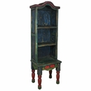 Painted Wood Chair Bookcase