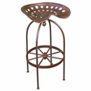 Iron Tractor Seat Bar Stools