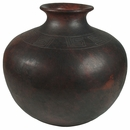 Large Round Cocucho Pot