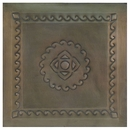 2 - Embossed Aged Tin Ceiling Tiles - Style #B