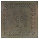 2 - Mexican Embossed Aged Tin Ceiling Tiles - Style #C