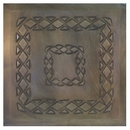 2 - Embossed Aged Tin Ceiling Tiles - Style #A