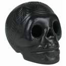 Small Black Clay Skull