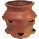 Large Terra Cotta Strawberry Pot