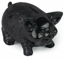 Oaxacan Black Clay Piggy Bank