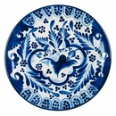 Blue & White Talavera Dinner Plate