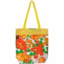 Medium Lined Oilcloth Bag